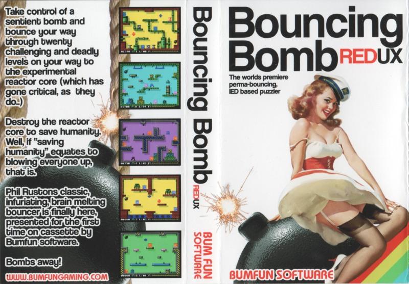 ZX-Spectrum Games - Bouncing Bomb - Redux - kazetová obálka