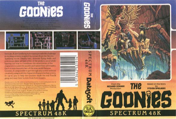 Goonies the - world of spectrum